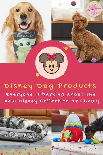 Disney pet products at Chewy, Marvel, Pixar, Star Wars