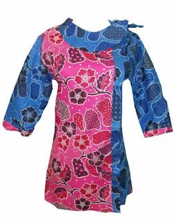 Baju Batik Lengan Panjang Untuk Wanita Karir