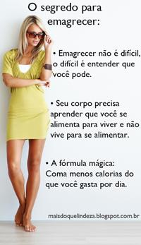 http://maisdoquelindeza.blogspot.com.br/2014/03/o-segredo-para-emagrecer-perder-peso_12.html