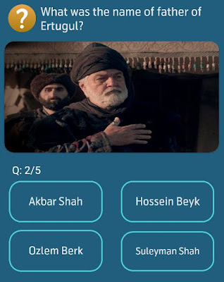 What was the name of father of Ertugrul?