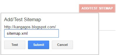 Cara Submit Sitemap dan Atom Ke Google Webmaster