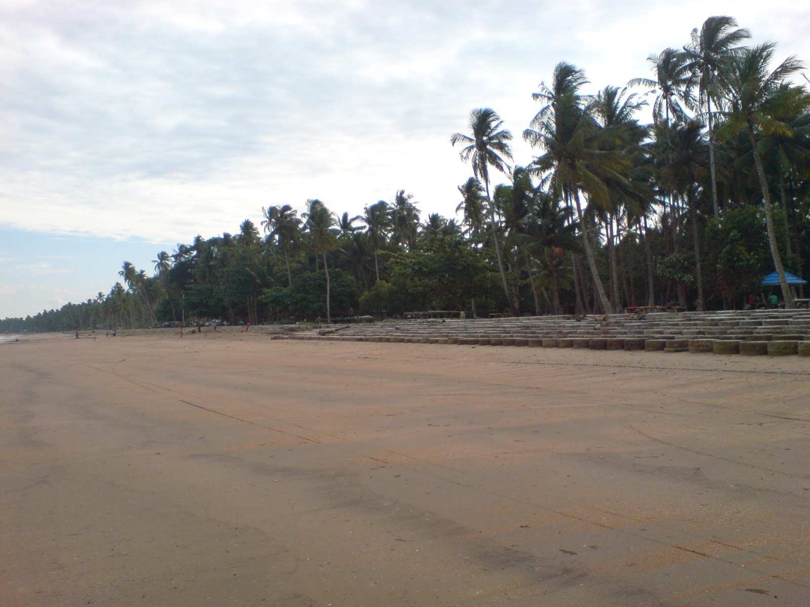 pantai tanjung jumlai penajam paser utara