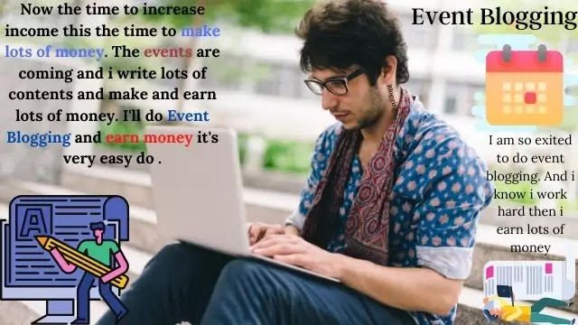 8 Easy Steps To Learn How To Make Money From Event Blogging | What is Event Blogging