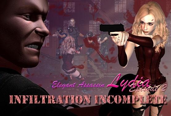 [H-GAME] Elegant Assassin Lydia – Episode 2: Infiltration Incomplete JP