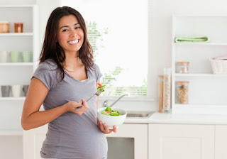 गर्भधारण के बाद आहार