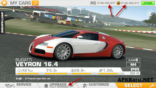 Real Racing 3 Mod Apk Terbaru Full ( Unlimited Money + Unlocked Cars )