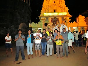 Group after Subramanya Swami darshan