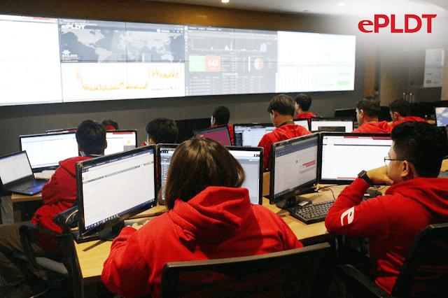eOC Cyber Security PLDT Gizmo Manila
