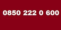0850 222 0 600 Telefon Numarası Kimin