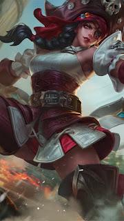 Karina Black Pearl Heroes Assassin Mage of Skins V3