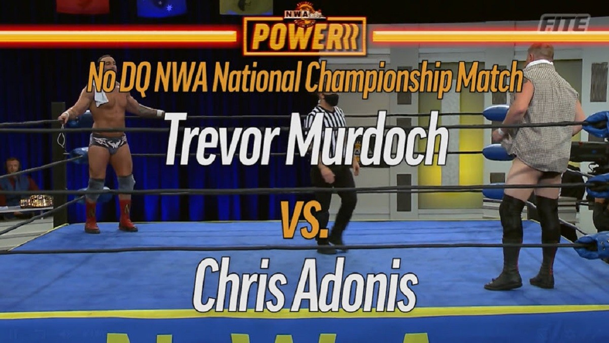 Cobertura: NWA Powerrr (30/03/2021) – O mundo da dor!