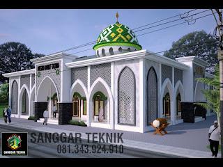 masjid minimalis modern 2017