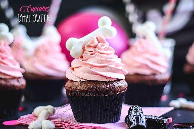 cupcakes Halloween vanille chocolat