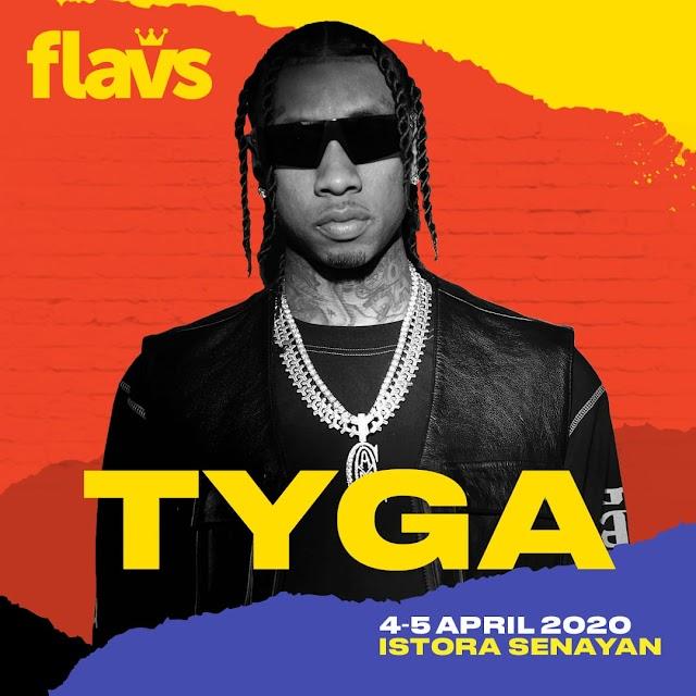 Flavs umumkan kembali satu nama artis internasional setelah Stormzy & Lil Pump