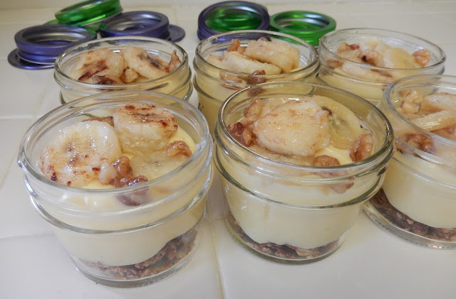 Banana%2BFoster%2BPudding%2BJars%2BRecipe%2B5 Weight Loss Recipes Banana Fosters Premier Protein Pudding Jars