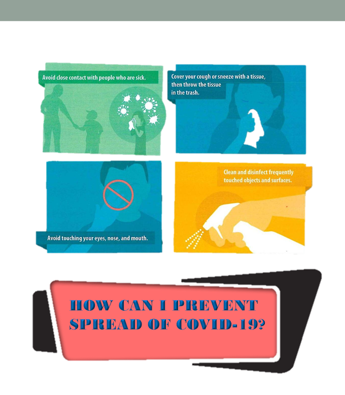 How To Stop Spreading Of COVID-19 [ Infographic ]