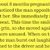 A Pregnant Woman Saw a Man Smiling at Her on the Bus