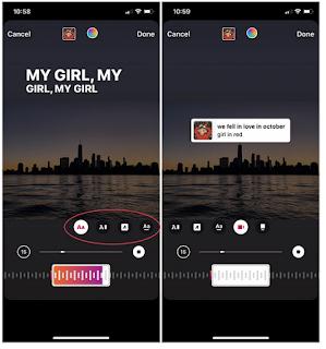Cara Menambahkan Lirik ke Instagram Story