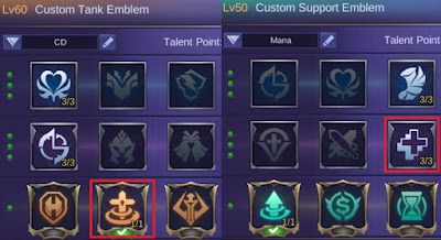 emblem baxia mobile legends