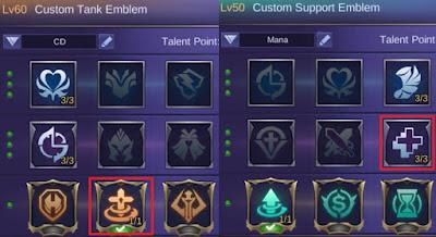 emblem baxia mobile legends