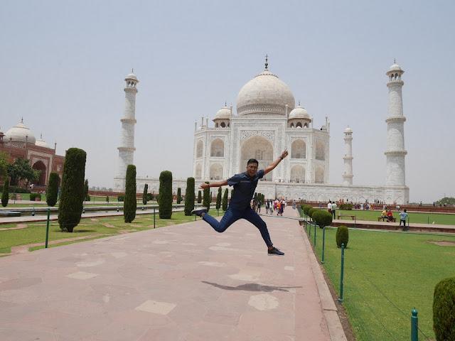 Finally Taj Mahal uyeee!