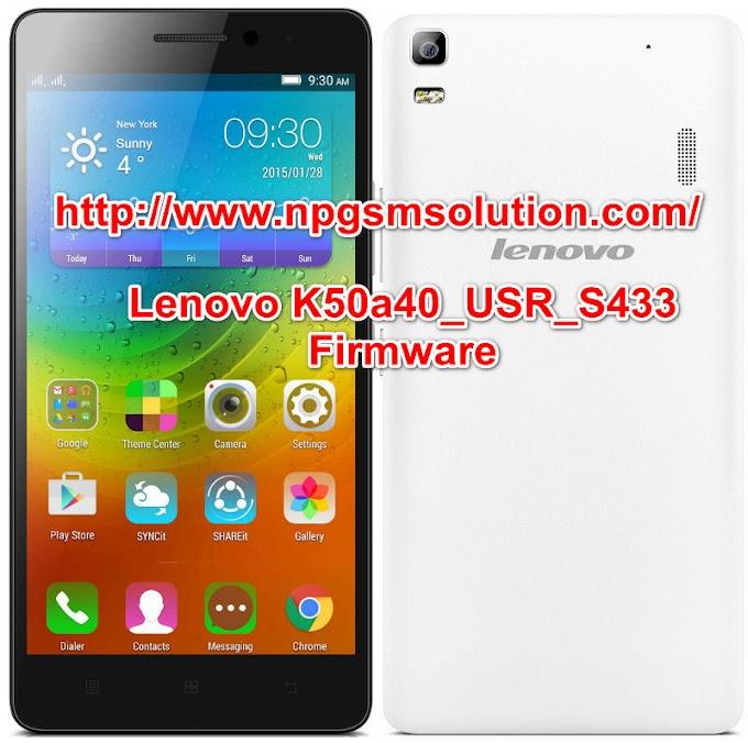 Lenovo K50a40_USR_S433_1609091731 firmware  free