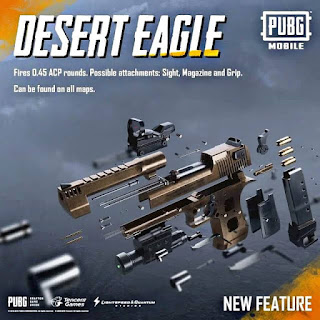 PUBG Mobile Desert Eagle