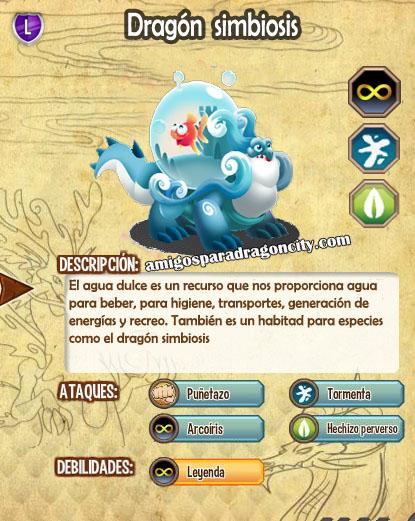 imagen de las caracteristicas del dragon simbiosis