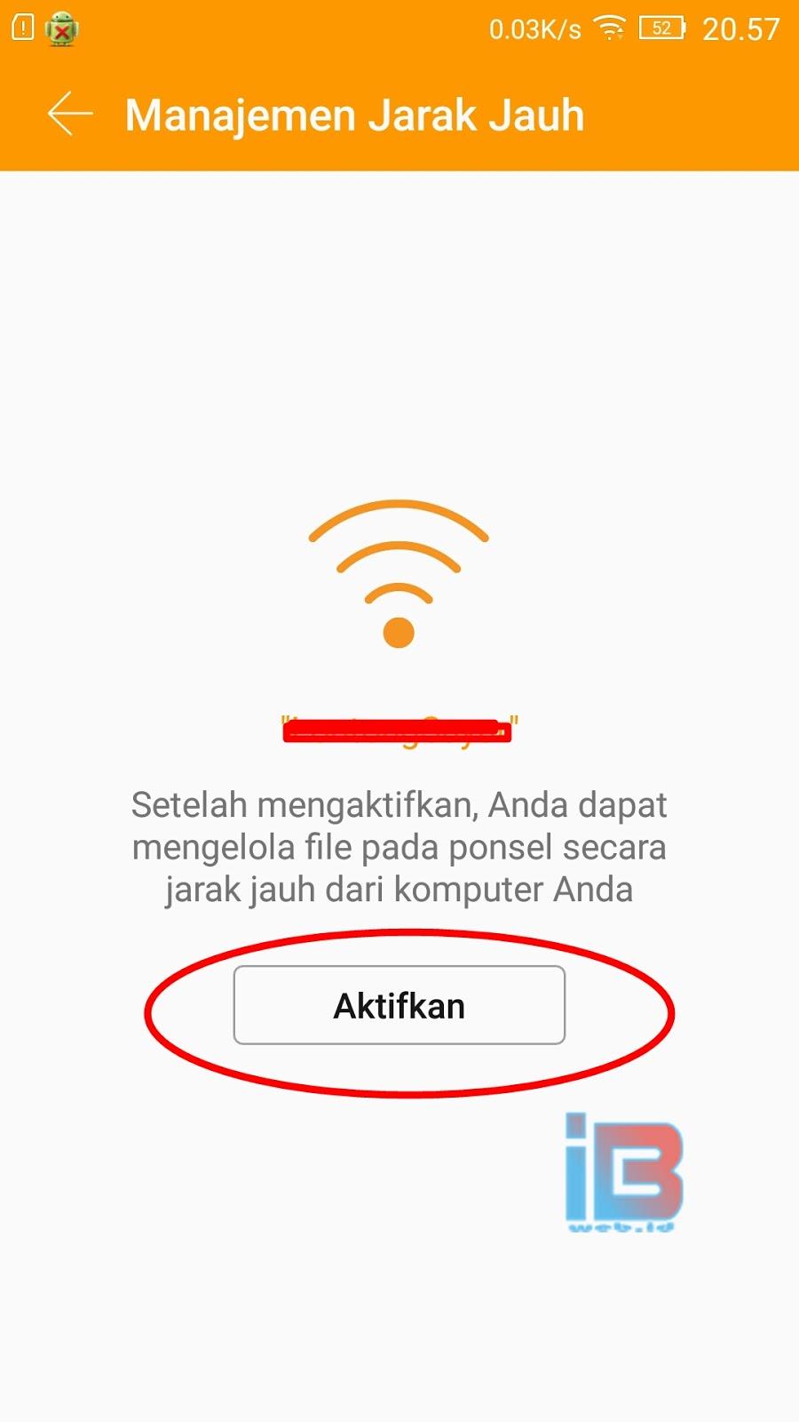 IP address smartphone