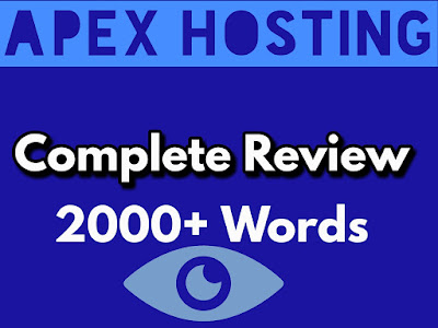 Expert Review on Apex Hosting in 2021: Get Started Just at $2.99 Per Month with 99.9% Uptime and 24/7 Servers