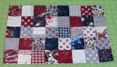 squares all quilted