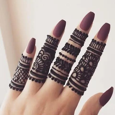 simple-pattern-finger-mehndi-design