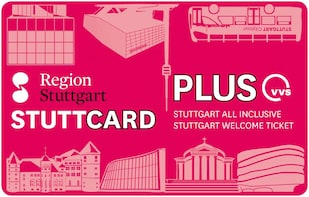斯圖加特旅遊卡   StuttCard PLUS   2020年版