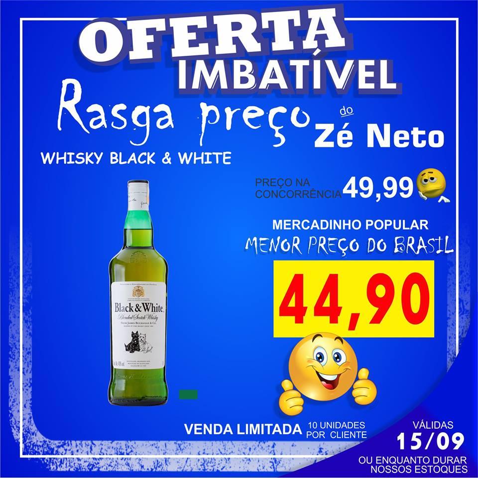 Whisky Black White