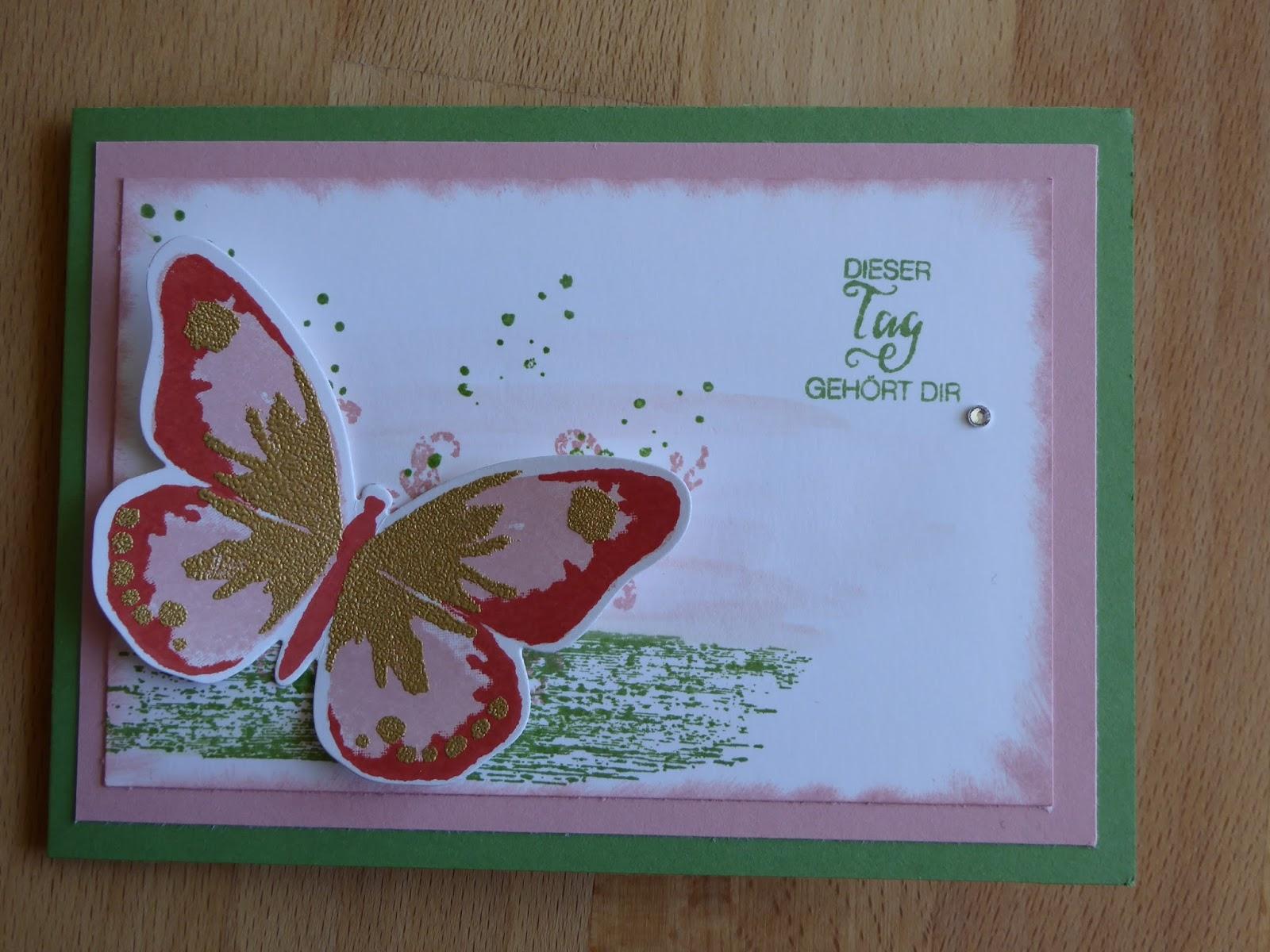 Kreative Bastelei: Geburtstagskarte - Geburtstagskarte Schreiben