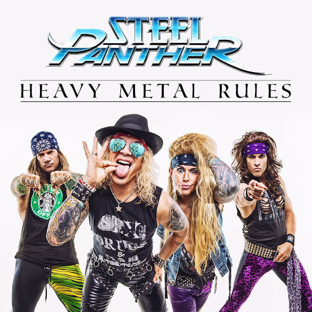 Steel Panther - Heavy Metal Rules  #PMRC PunkMetalRap.com