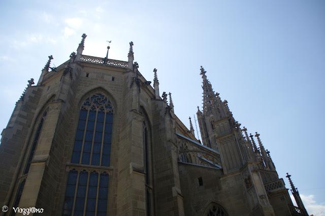 Facciata tardo gotica del Duomo di San Vincenzo