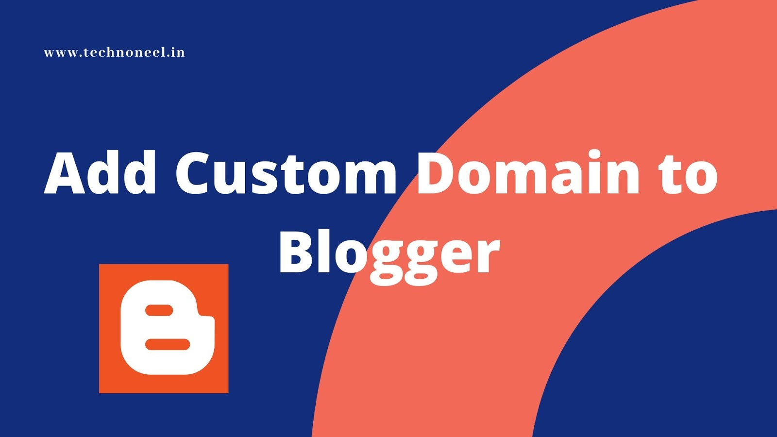 connect custom domain with blogger website