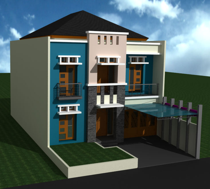Model Rumah Basement Minimalis & 15 Desain Rumah dengan Basement