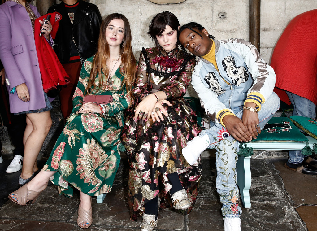9dc5ef871ebf2 Gucci Takes British Inspiration for Cruise 2017 Show - The Front Row ...