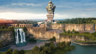 Garuda Wisnu Kencana is a cultural tourist park located in South Bali