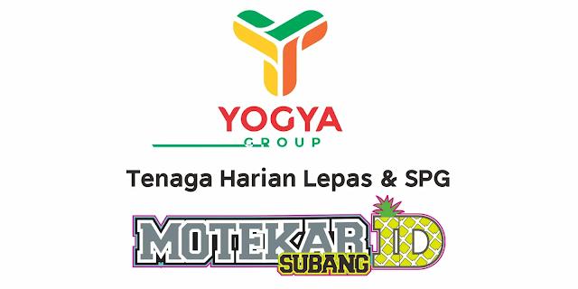 Info Loker SPG dan Tenaga Harian Lepas (THL) Yogya Grand Subang 2021