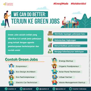 Peluang kerja greenjobs untuk anak muda