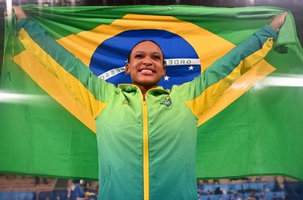 Tokio 2020: Gimnasta brasileña Rebeca Andrade gana el oro en salto
