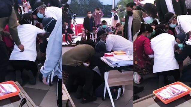 Rumah Sakit Pasien Covid-19 Surabaya Overload, Risma Sujud Minta Maaf ke Dokter RSUD dr. Soetomo