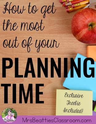 Your teacher planning time is short, and the list of tasks needing your attention is long. Check out these suggestions for making the most of your non-teaching planning time, and grab an exclusive free Planning Time Checklist to help you get organized today!
