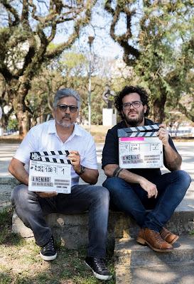 Marcelo Braga e Gabriel Gurman (crédito: Stella Carvalho)