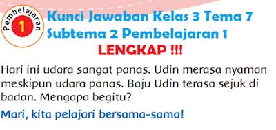 Kunci Jawaban Kelas 3 Tema 7 Subtema 2 Pembelajaran 1 www.simplenews.me