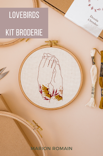 Kit broderie amour