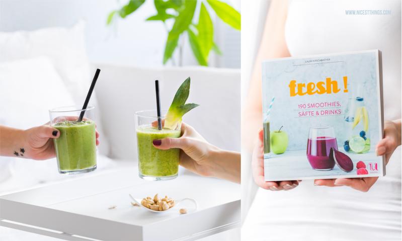 fresh! 190 Smoothies, Säfte und Drinks, Umschau Verlag - Cover